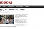 Revista de Cinema_Gravações